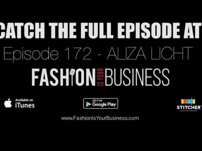 172 – Aliza Licht of Alice + Olivia by Stacey Bendet – Fearless brand marketing