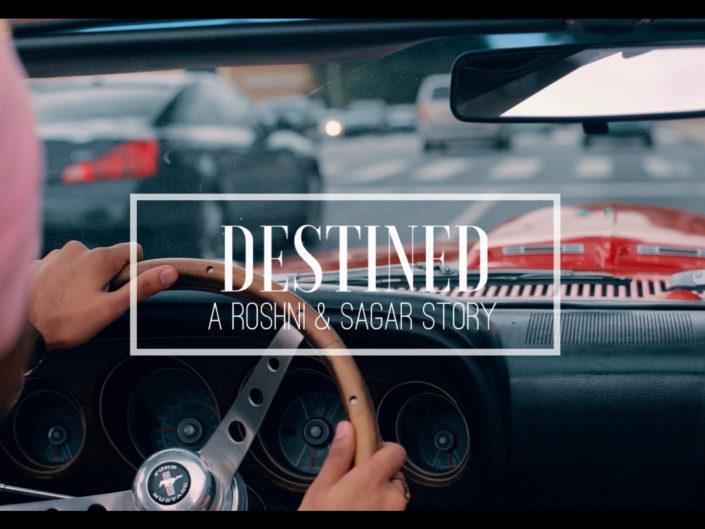 DESTINED – A Roshni and Sagar Grand Entrance