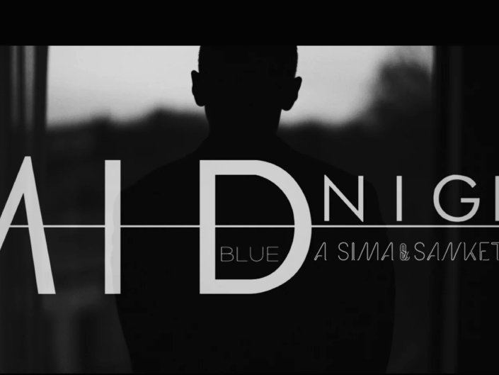 Midnight Blue – A Sima and Sanket Story